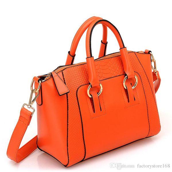 2017 Hot Sell Alligator Pattern female handbags PU tote Satchel bag zipper designer handbags 6 colors