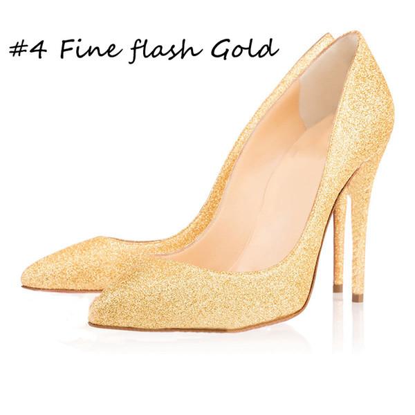 #4 Fine flash Gold