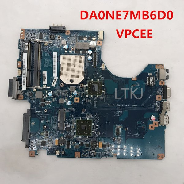 High quality for vaio VPCEE series HD4200 Laptop motherboard DA0NE7MB6D0 A1784741A PCG61611M DDR3 100% full Tested