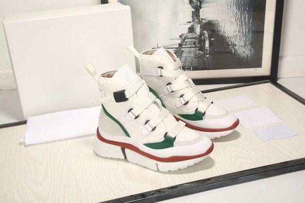 2019 diseñador de moda de lujo zapatos de mujer zapatillas de baloncesto zapatillas de deporte Stan Smith estrella alpargatas vintage con tamaño de caja 35-39 -182