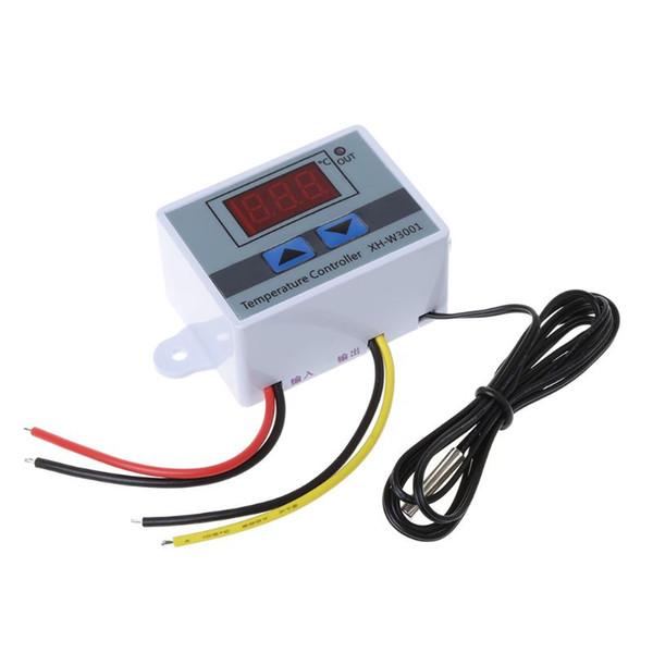 Sonda del interruptor de control del termostato del regulador de temperatura de 12V / 220V 10A Digital LED