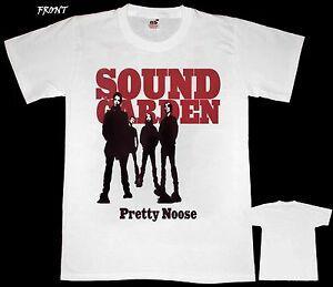 Unisexundgarden Pretty Noose Хэви-метал УнисексOSLAVE Белый T РАЗМЕРЫ S до 7xl