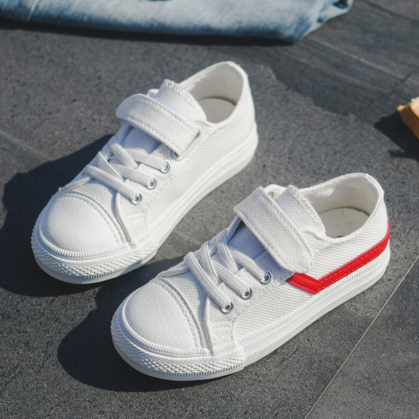 Kids Boys Girls Canvas Shoes Breathable Cloth 2017 New Spring Autumn Children Shoes Boys Sneakers Fashion Toddler