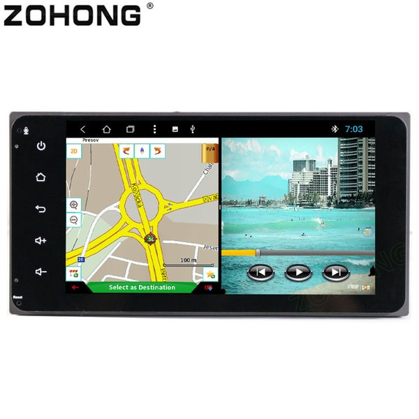 2 din 8 Core 2G + 32GB Android8.1 CAR DVD Player para Toyota Corolla Ex RAV4 Camry Vios Vitz Hilux GPS Radio de navegación WIFI BT MAP