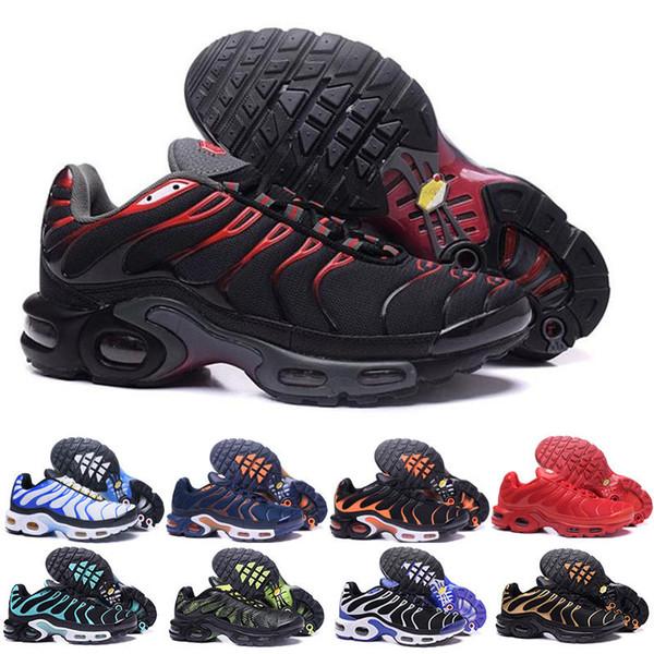 2019 Üst Hava Mercurial TN artı kırmızı Siyah Beyaz Turuncu Koşu wuqidhnmlgb açık TN ayakkabı Kadın Erkek Eğitmenler Spor Sneakers 40-46