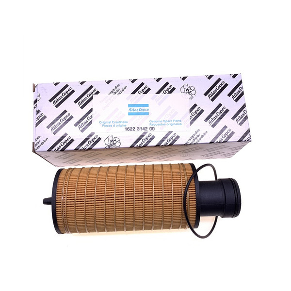 Free shipping 4pcs/lot 1622314200(1622 3142 00) built-in oil filter element oil grid fuel filter coolant filter for screw air compressor