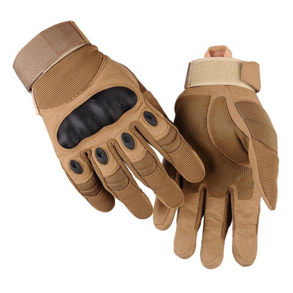 Outdoor Cycling Gloves Tactics Full Finger Mittens Motion Protection Glove Keep Warm Non-slip wear-resistant army fan gloves ZZA175