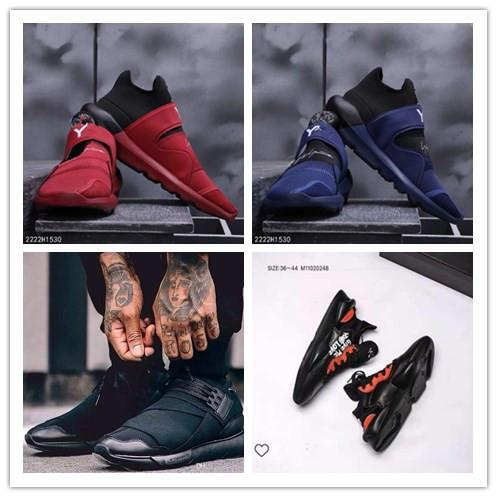 Wholesale Casual Shoes Y-3 QASA RACER Hight Sneakers Breathable Men Women Y-3 Suberou Casual Shoes Couples Y3 Shoes Size Eur36-44