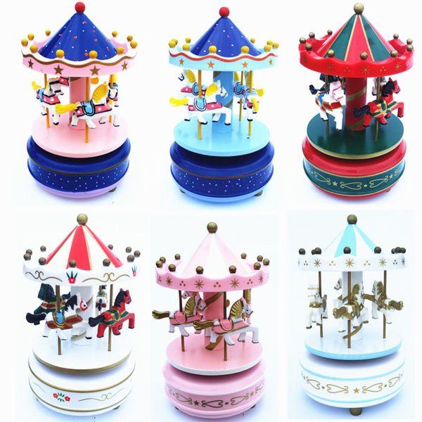 [TOP] Collection pour adultes Rétro jouet en métal Tin Le carrousel en musique Jouet mécanique Mécanique jouet chiffres modèle enfants cadeau