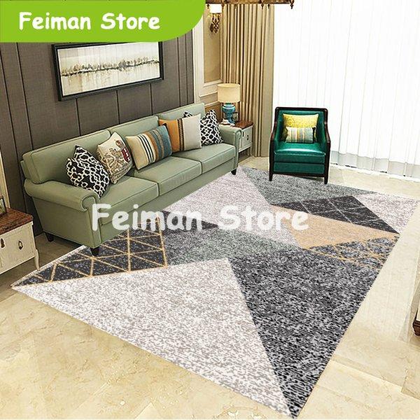 Nodic Geometric Living Room Carpet Bedroom Anti Slip Large Rug Floor Mat  Kids Kitchen Carpets Area Rugs Mohawk Carpet Prices Gulistan Carpet From ...