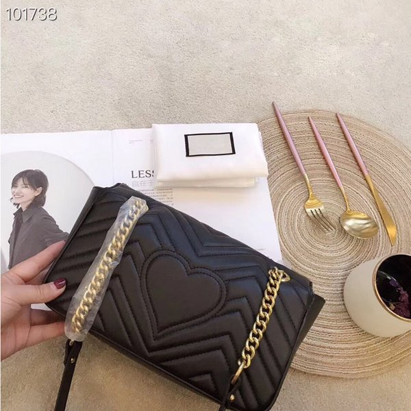 HOT STYLE!!!Famous brand designer fashion luxury ladies small chain shoulder bags messenger bag women crossbody designer handbags size:26cm