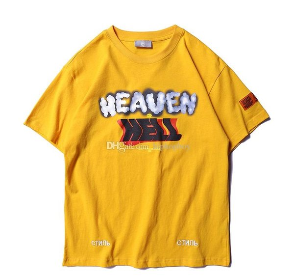 Designer camicia di alta qualità Heron Preston Mens T Shirt Moda Uomo Donne Street Style Casual T Hip Hop manica corta HP