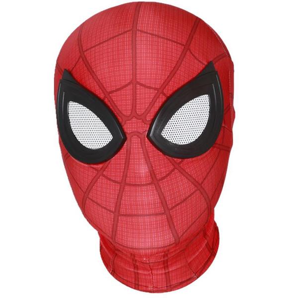 Satin Al Orumcek Adam Evden Uzakta Peter Parker Maske Lensler 3d