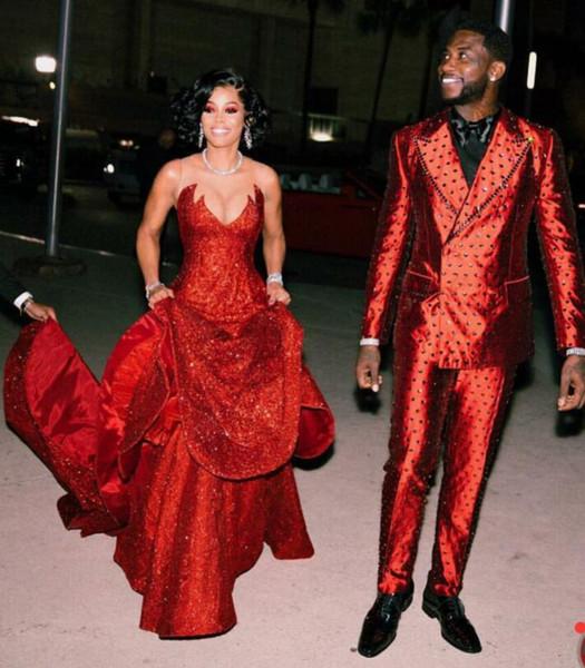 Vestido Preto Vestido De Noite Yousef Kylie Jenner Kim Kardashian Charble Zoe Elie Saab Cristais Vermelhos Off Ombro Manga Comprida Zuhair Murad 101
