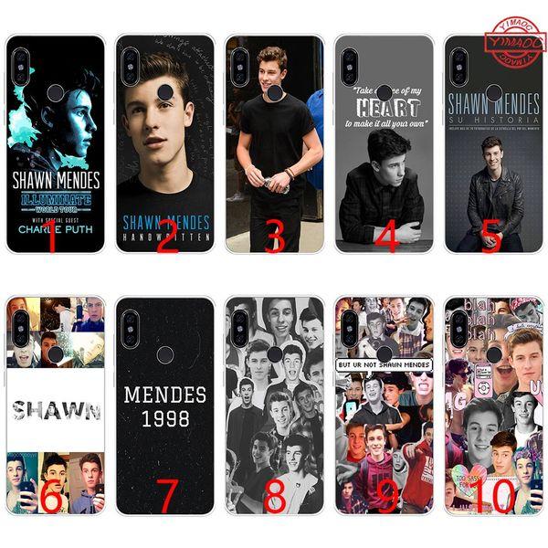 Shawn Mendes Magcon Weiche Silikon TPU Telefon Hülle für Xiaomi Mi A1 5X 6 6X 8 SE Mix 2S A2 Lite Hülle