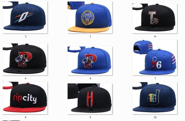 best selling New Caps Snapback Hats Teams Hats Mix Match Order All Caps in stock Basketball Football Hockey Baseball Top Quality Hat Wholesale
