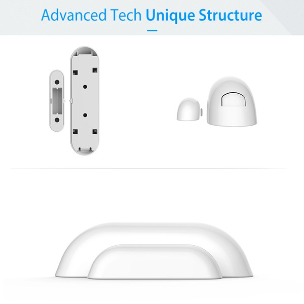 Magnetic Sensors Independent Home Security System Wireless Home Security Alarm Window Sensor Alarm Door Alarm Switch Window Door Sensor