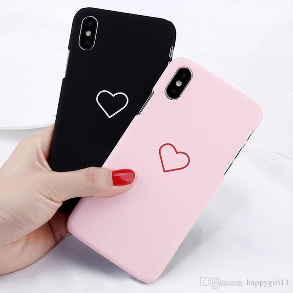 Precio de fábrica Mate Funda protectora para teléfono con tapa rígida para la piel delgada Cubierta a prueba de golpes para Apple iPhone 8 8 Plus 6s 6 7 Plus iPhone X 5 5s u44