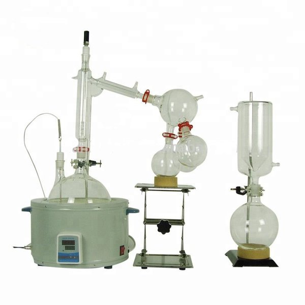 2019 Short Path Evaporator 20L Lab Supplies Suitable For Enrichment  Crystallization Drying Separation Short Essential Oil Distillation  Equipment From