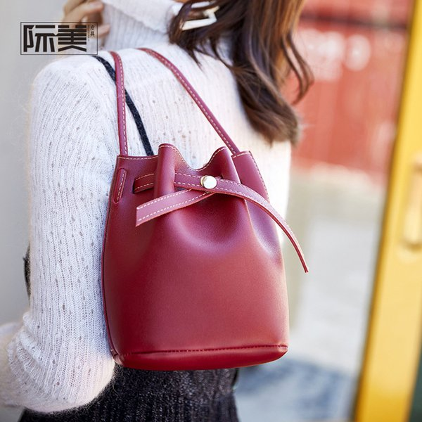 Fabrik großhandel 2019 frühjahr neue ich mode eimer tasche trend einzelne schulter umhängetasche handtasche eine generation