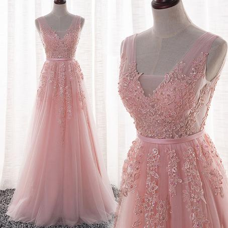 2019 Real Image Empire Waist paolo sebastian prom dresses V-neck Cap Sleeve Beaded Pearls Lace Applie Formal Dress Girls Evening Gowns Party