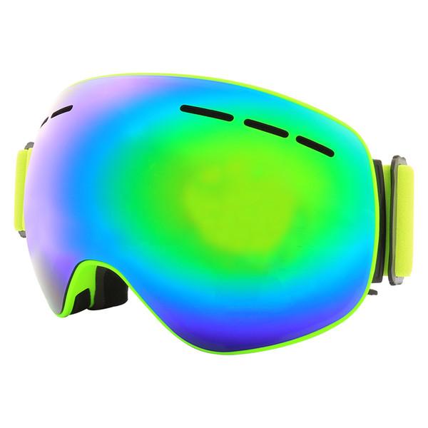 Snowboard spor kar kar araci maskesi snowboard kadınlar kayak google marka kış kayak gözlükleri
