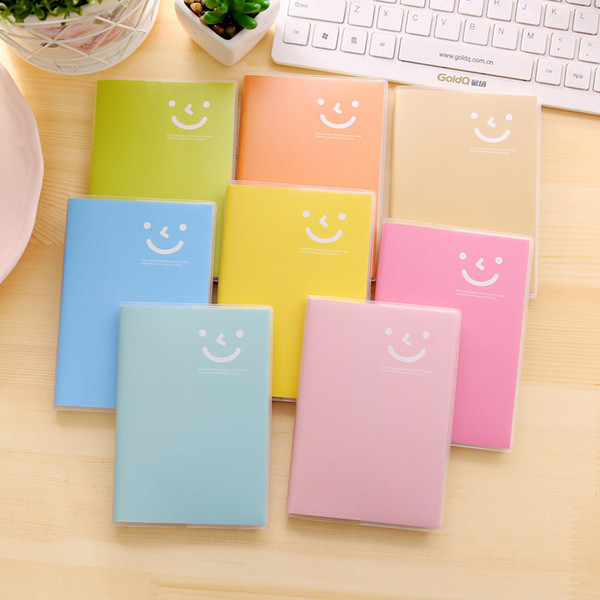 top popular Mini Notepads Portable Notebook Trumpet Notepad Pocket Daily Memo Pad PVC Cover Journal Book School Office Supplies Stationery VF1492 2020