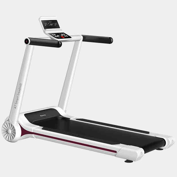 top popular Factory home electric treadmill slim mini walking machine fitness equipment folding home treadmill 2019