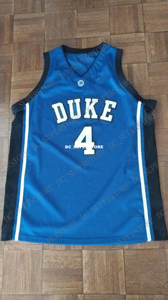 Cheap custom DUKE BLUE DEVILS BASKETBALL JERSEY #4 JJ REDICK Stitched Customize any number name MEN WOMEN YOUTH XS-5XL