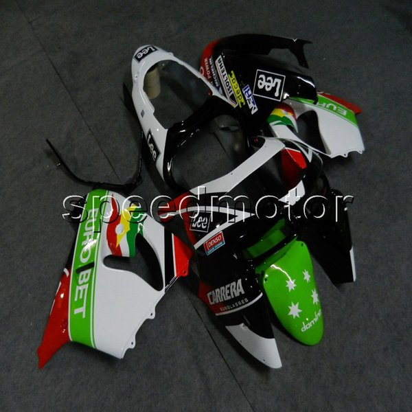 23colors+Botls red green white motorcycle Fairing for Kawasaki ZX9R 1998-1999 ZX-9R 98 99 ABS Motorcycle cowl