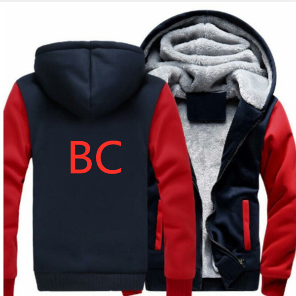 BC Car Logo Pattern Hoodies Men's Fashion Personality Zipper Sweatshirt Male Hoody Tracksuit Hip Hop Hooded Autumn Winter Hoodie