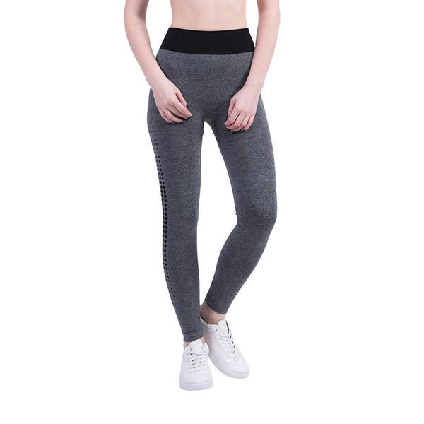 Leggings Women Gym Patchwork High Waist Sports Running Fitness Leggings Workout Athletic Pants Sweatpants Trouser