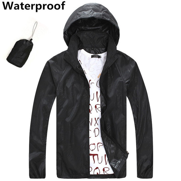 SAENSHING outdoor jacket unisex windproof waterproof Jacket camping hiking fishing Rain jacket hunting clothes sport windbreaker