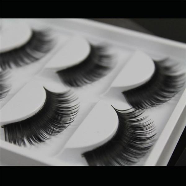 5 paires 3D cils de vison doux long naturel Faux Faux long épais cils faits à la main cils Flase cils naturel noir outil de maquillage