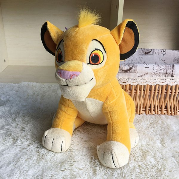 2019 26cm Simba The Lion King Plush Toys Simba Soft Stuffed Animals Doll Simba The Lion King Kids Birthday Gifts Novelty Items Cca11603 From