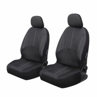 Two front seats PU leather car seat cover car interior accessories, four seasons general waterproof and dustproof, suitable for most cars
