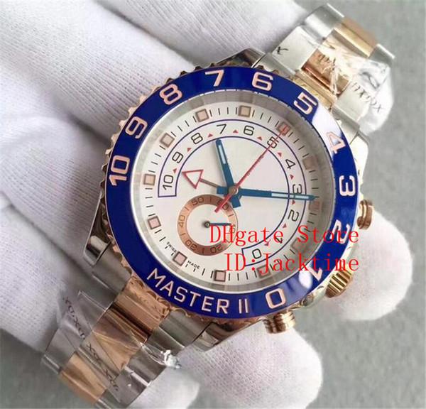 4 Cor de Luxo Assista 116688 18k Ouro Amarelo 44mm 116680 116681 116689 Cerâmica Bezel Nenhum Cronógrafo Automático Mens Relógios Relógios De Pulso