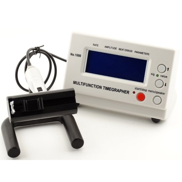 No.1000 Mechanical Watch Timegrapher Tester,Multi-Functions Watch Repair Tool Timing Timegrapher for Repairers and hobbyists