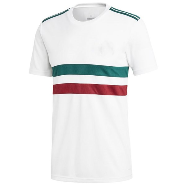 on sale f4334 f1a5a 2019 Men Mexico League National Team Soccer 2018 Away Replica Blank  Football Jersey White Green Shirts Size S XL From Urbanfantasy, &Price; |  ...