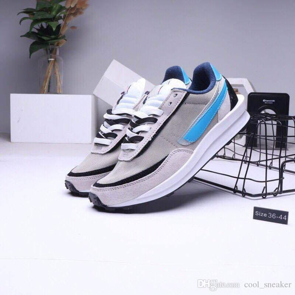 5New Sacai LDV Waffle Daybreak Trainers Mens Sneakers For Women fashion designer Breathe Tripe S Sports Running Shoes Size Eur36-45 With Box