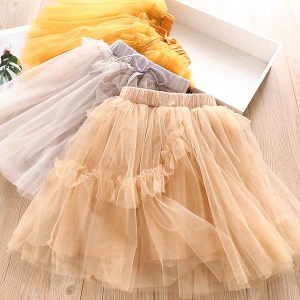 Ins rendas princesa meninas saias crianças roupas de grife meninas tutu saias meninas cair roupas roupas infantis moda infantil saia A6874