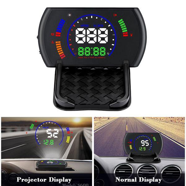 Digital Speedometers Hud Heads Up Display 5.8inch tela grande com carro Driving odómetro Excesso de velocidade Alarm XR657