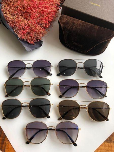 Per gli occhiali da sole Hot neutral gli uomini e le donne viaggiano indossando gli occhiali da sole necessari per indossare occhiali da sole di ottima qualità, misura 58 * 19 * 145