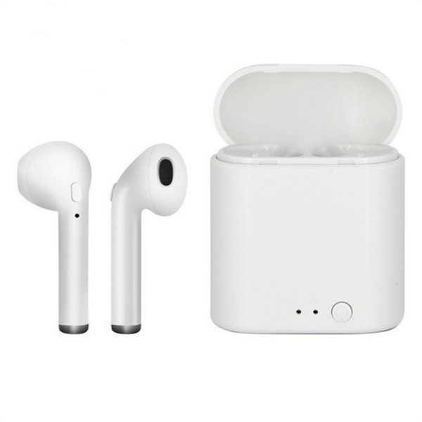 i7s tws Bluetooth Earphone Mini Wireless Earphones Sport Cordless Headset In-ear Earbuds with Charging Box for All Phone