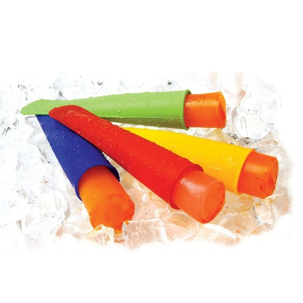 top popular 20 cm Silicone ice pop mold mould silicone ice pop maker Push Up Ice Cream Jelly Lolly Pop For Popsicle 2019