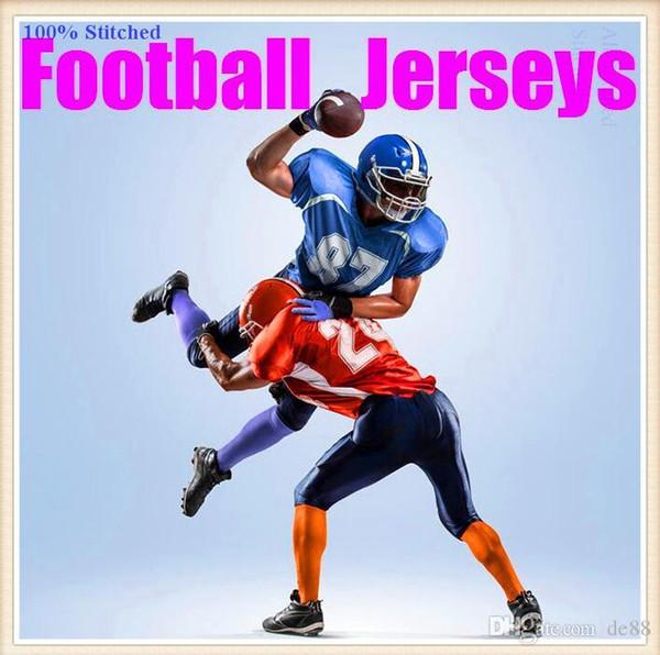 Personnalisé maillots de football américain Tampa Bay Dallas collège authentique rétro rugby football baseball basketball hockey maillot 4xl 6xl 8xl style