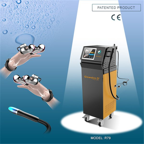 Skin Rejuvenation Platinum finger IF & MF ice sculpture quantum RF machine for face skin and body slimming R79 weight loss