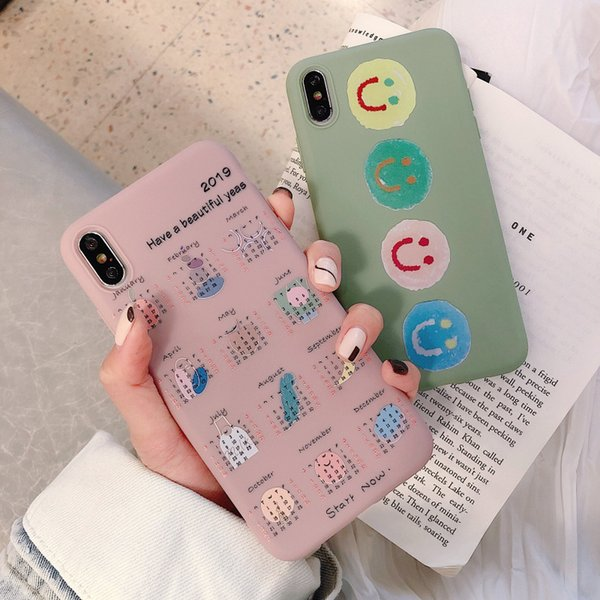 Applicable iphone xr mobile phone shell apple xs max matte oppo creative vivo cartoon soft shell protective cover