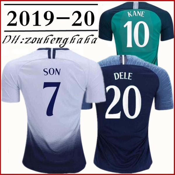 6b40eb49e45 2018 2019 spurs SON Soccer Jersey 18 19 Champions League KANE Squad  Training Tops Football shirt LAMELA ERIKSEN DELE maillots de foot