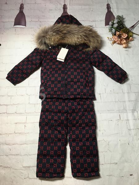 2019 nouveau-né bébé garçon vêtements marron manteau coton manches longues combinaisons enfants garçon vêtements marque Casual bébé vêtements ensembles bébé fille vêtements